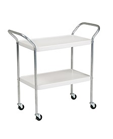 Stylaire 2 Tier Serving Cart
