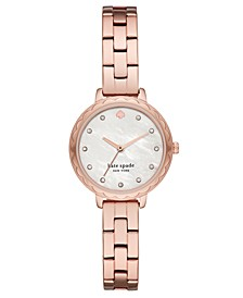 Women's Morningside Mini Rose Gold-Tone Stainless Steel Bracelet Watch 28mm