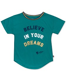 Tommy Hilfiger Little Girls Believe In Your Dreams T-Shirt