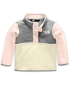 The North Face Baby Girls Colorblocked Glacier Fleece Jacket