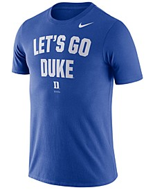 Men's Duke Blue Devils Dri-FIT Local Verbiage T-Shirt