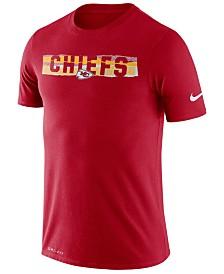 Nike Men's Kansas City Chiefs Dri-FIT Mezzo Tear T-Shirt
