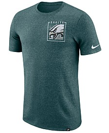 Nike Men's Philadelphia Eagles Marled Stadium T-Shirt