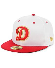 New Era Oklahoma City Dodgers Retro Stars and Stripes 59FIFTY Cap
