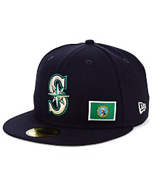 New Era Seattle Mariners Flag Day City 59FIFTY Cap