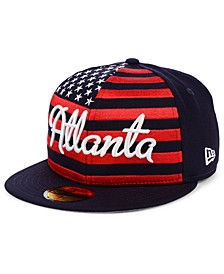 Atlanta Braves Retro Big Flag 59FIFTY Cap