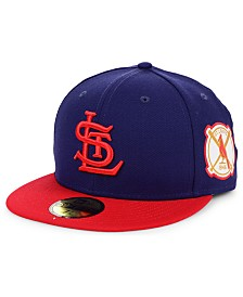 New Era St. Louis Cardinals World Series Patch 59FIFTY Fitted Cap