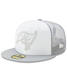 Tampa Bay Buccaneers White Cloud Meshback 59FIFTY Cap