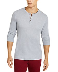 Men's Henley Shirt, Created for Macy's