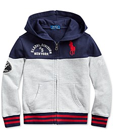 Little Boys Knit Hoodie, Created For Macy's
