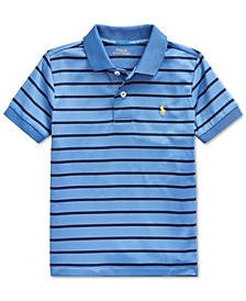 Toddler Boys Lisle Performance Knit Polo Shirt