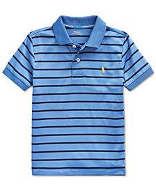 Polo Ralph Lauren Toddler Boys Lisle Performance Knit Polo Shirt