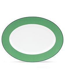 kate spade new york Dinnerware, Hopscotch Drive Green Platter