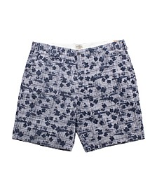 PX Clothing Big and Tall All Over Printed Oxford Short