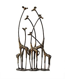 Home Giraffe Herd Sculpture
