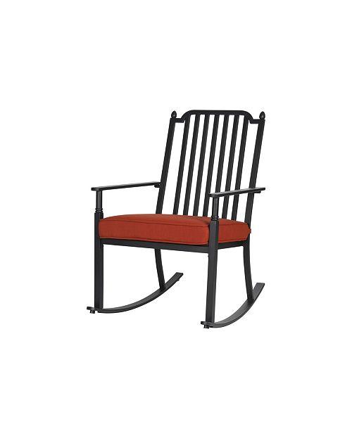 Liberty Garden Patio St. Martin Rocking Chair