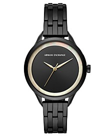 Women's Harper Black Stainless Steel Bracelet Watch 38mm