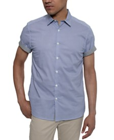 Kenneth Cole Men's Geometric-Print Shirt