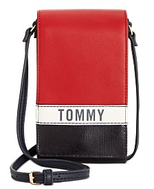 Tommy Hilfiger Julia Coated Canvas iPhone Crossbody