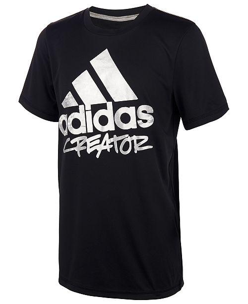 adidas Big Boys Creator-Print T-Shirt