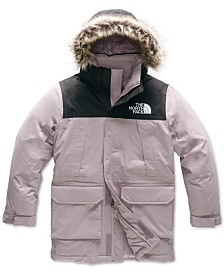 The North Face Little & Big Girls McMurdo Down Hooded Parka With Faux-Fur Trim