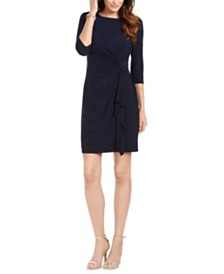 Jessica Howard Petite Twist-Front Dress