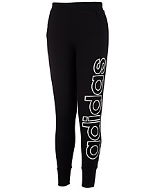 Little Girls Linear Jogger Pants