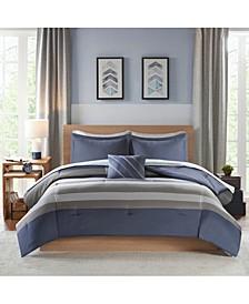 Marsden Twin XL 6-Pc. Comforter Set