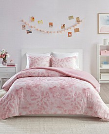 Jenna Full/Queen 3-Pc. Printed Jersey Knit Comforter Set