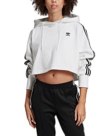 Women's Adicolor Cotton Cropped Hoodie