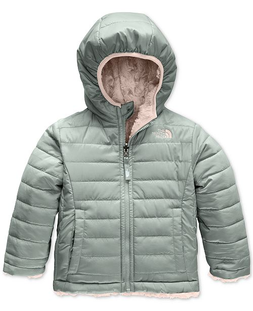 The North Face Toddler Girls Reversible Mossbud Swirl Jacket