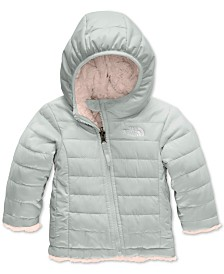 The North Face Baby Girls Reversible Mossbud Swirl Insulated Hoodie