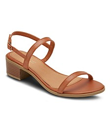 Rise and Shine Chunky Heel Sandals