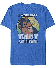 Disney Men's Hakuna Matata Sunset Fill Short Sleeve T-Shirt