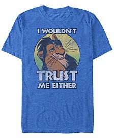 Disney Men's Lion King Hakuna Matata Sunset Fill Short Sleeve T-Shirt