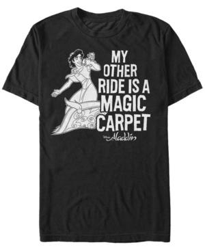 Disney Men's Aladdin My Other Ride Short Sleeve T-Shirt