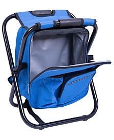 Playberg Folding 3 in 1 Stool, Backpack, Cooler Bag