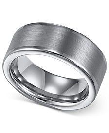Men's Tungsten Ring, 8mm Wedding Band