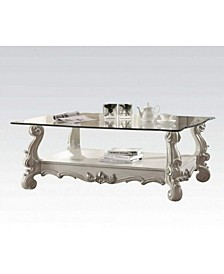 Kingly Coffee Table with Glass Top