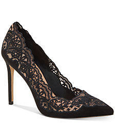 INC Kyomi Lace Pump, Created for Macy's