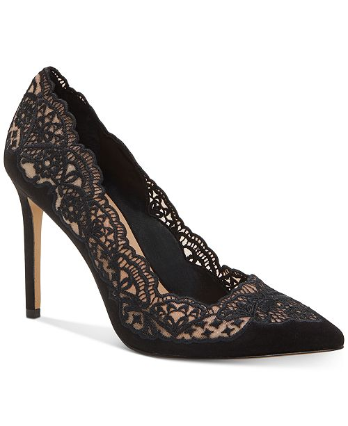 INC International Concepts INC Kyomi Lace Pump, Created for Macy's