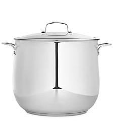 Polished Stainless Steel 20-Qt. Covered Stockpot, Created for Macy's