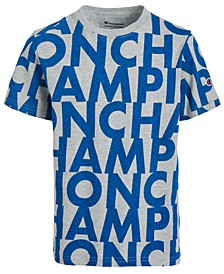 Big Boys Cotton Printed T-Shirt
