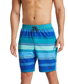 "Men's 9"" Racer Volley Swim Trunks"