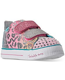 Toddler Girls Twinkle Toes Shuffle Lite Casual Sneakers from Finish Line