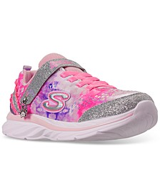 Little Girls Quick Kicks Lil Princess Stay-Put Closure Casual Training Sneakers from Finish Line