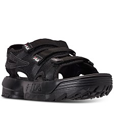 Fila Men's Disruptor Athletic Sandals from Finish Line