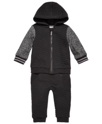 Baby Boys Quilted Jogger Pants, Created for Macy's