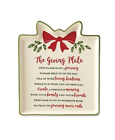 Lenox Holiday Gift Giving Plate