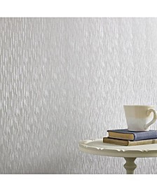 Graham Brown Silken Stria Silver Mist Wallpaper